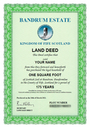 Land Certificate